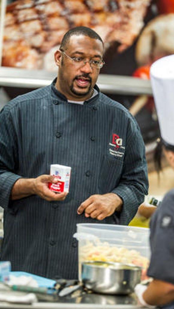 "Dana Herbert won the first season of the TLC series ""Next Great Baker."" His Newark bakery opened Monday."