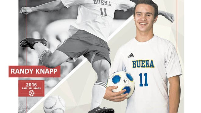 Buena Regional High School senior Randy Knapp is The Daily Journal Player of the Year.
