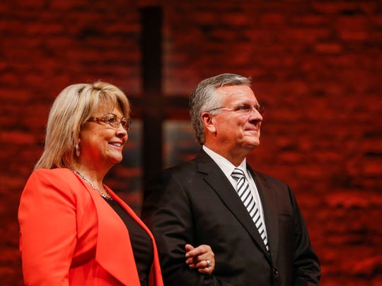 New General Superintendent Doug Clay and his wife Gail