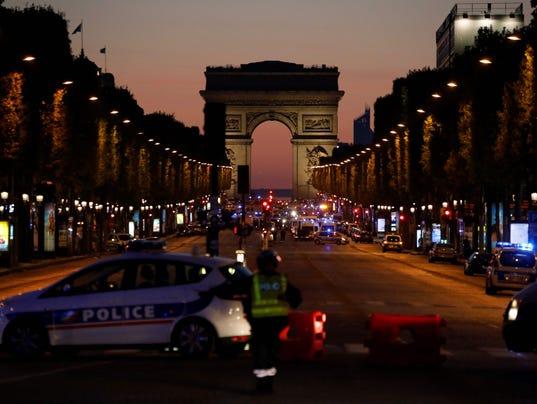 France Paris Champs Elysees