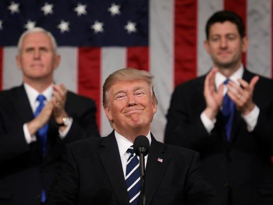 Bildergebnis für Trump State of Union Speech