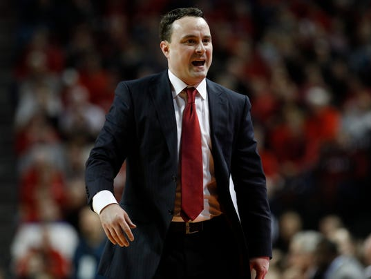 NCAA Basketball: Indiana at Nebraska