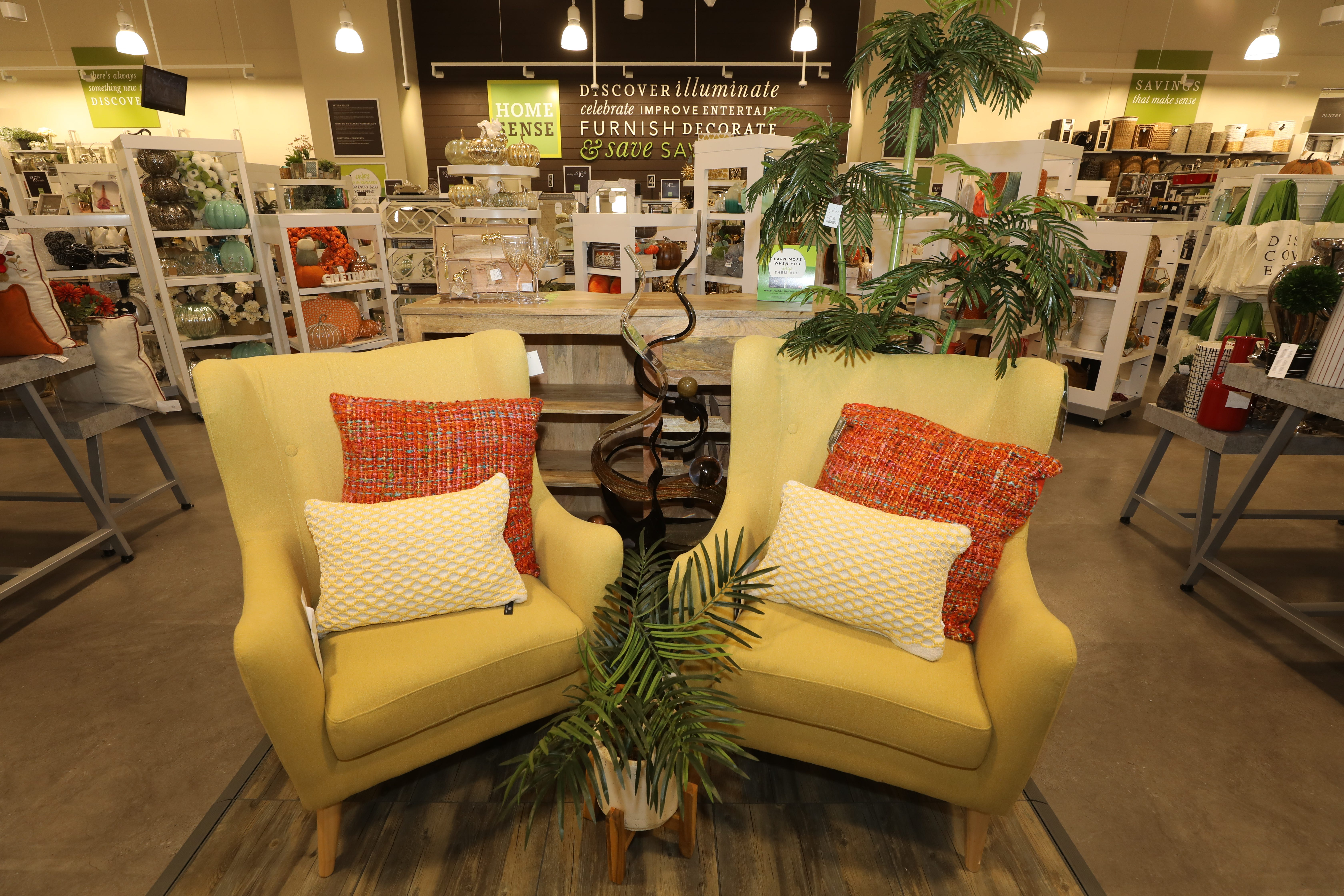 Opening Of Home Sense, A Store Operated By TJMaxx.