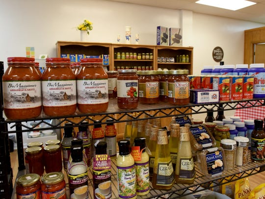 Italian foods and pantry items available from Mr. Meatball
