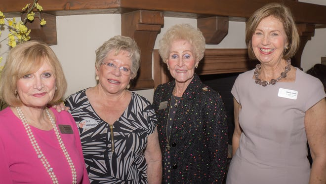Guild president Rhona Bader, Dee Wambaugh and event co-chairs Joan Woerhmann and Susan Linsk.