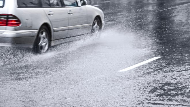 Watch out for the possibility of street flooding during your evening commute.