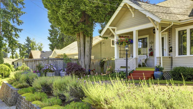 """When selling, one of the most important goals is to always create the best """"first impression"""" that you can. That's why freshening the landscaping and making the yard look as good as possible is so important."""