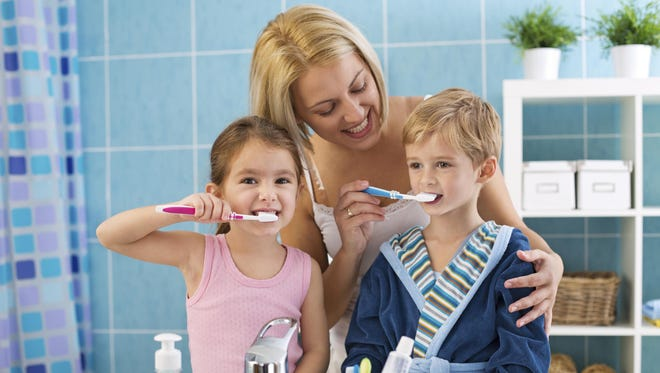 Children must understand that tasks like brushing their teeth are expected of them every morning.
