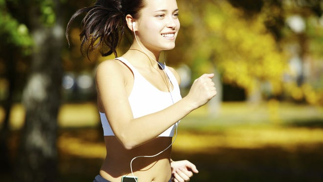 Music can boost your run.