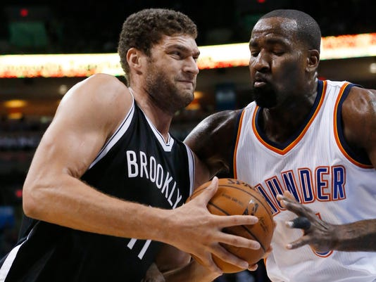 Brook Lopez, Kendrick Perkins