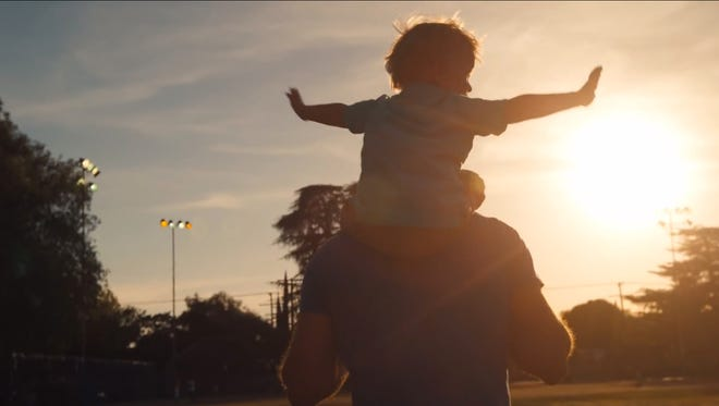 2015 Super Bowl ad, Dove Men+Care, shows dads in a positive light.