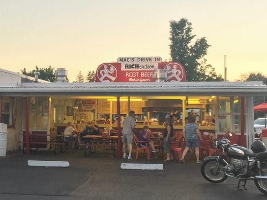 Mac's Drive-In is one of just a handful of drive-ins