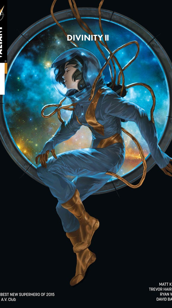 The cover of Divinity II issue 1
