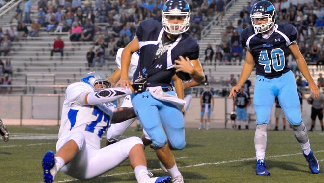Enka is home for Thursday night's live TV football game against North Buncombe.