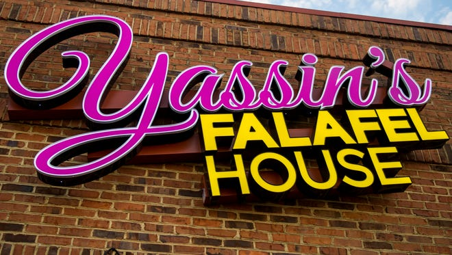 Yassin's Falafel House opened its second location on N. Peters Road in Knoxville on Jan. 26, 2018.
