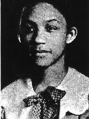 Geraldine Evans Findley, the first black school teacher in Muncie, is shown in this photo circa 1954.