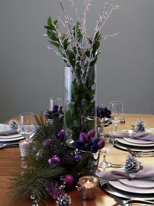 Holiday decor and centerpieces