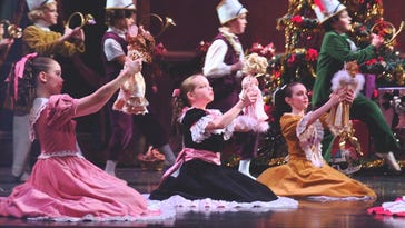 """Greenville Ballet's 32nd annual performance of """"The Nutcracker"""" takes place Saturday, 3 p.m. at Furman University's McAlister Auditorium."""