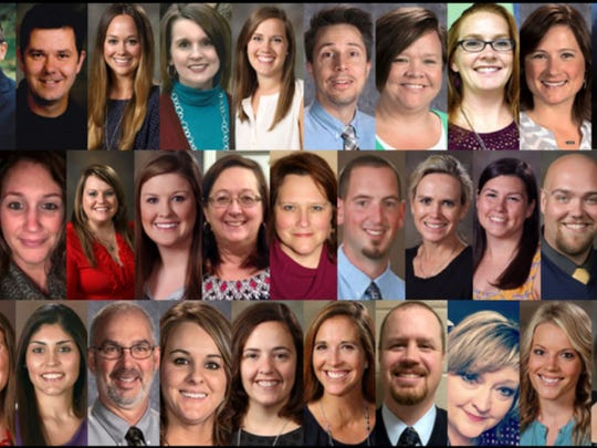 Rutherford County Schools' Teachers of the Year will be honored March 15 during a banquet in Murfreesboro.