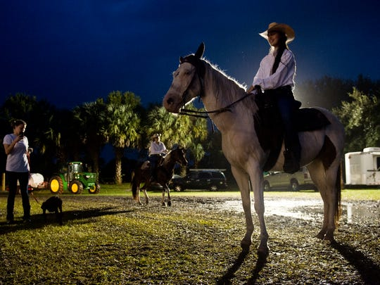 The Indiantown Rodeo at Timer Powers Park in Indiantown on Oct. 15, 2016.