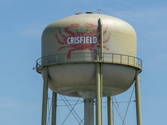 Crisfield water tower Crisfield, Md. Presto mdweb