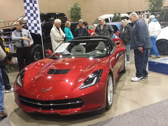 The Reno Auto Show is taking place at the Reno-Sparks Convention Center.