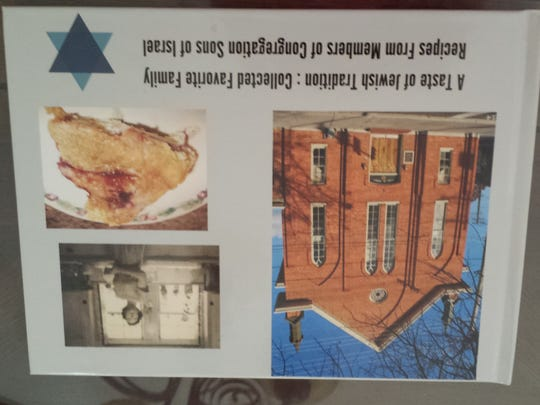 "The newly published book, ""A Taste of Jewish Tradition: Collected Favorite Family Recipes from Members of Congregation Sons of Israel,"" will be sold at the Jewish Food and Heritage Festival on Sept. 18 at Congregation Sons of Israel, 209 E. King St., Chambersburg."