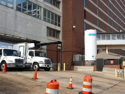 Methodist University Hospital loading dock