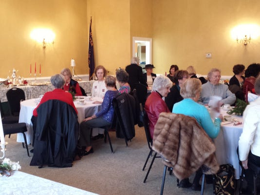 Tewksbury: WCTT welcomes the holiday season with its 'Silver Tea' on Dec. 6 PHOTO CAPTION