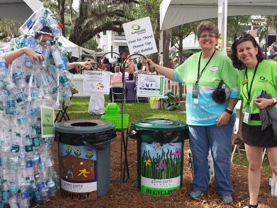 Greening the LeMoyne Chain of Parks Art Festival.