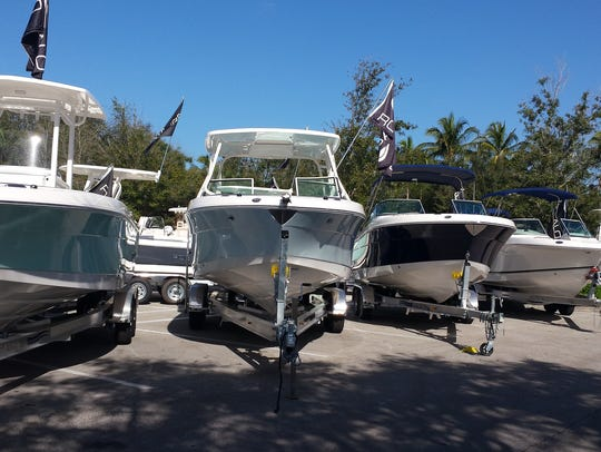 Dealers bring a variety of boats to the annual Bonita