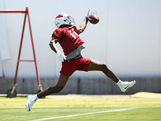Cardinals rookie mini-camp practice