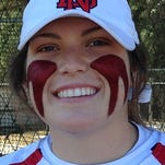 Maddie Burchell has eight home runs during a 14-1 start by North DeSoto, which advanced to the LHSAA 4A quarterfinals last season.