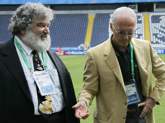 US Chuck Blazer, chairman of the FIFA or