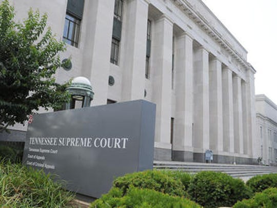 Tennessee Supreme Court building in Nashville.