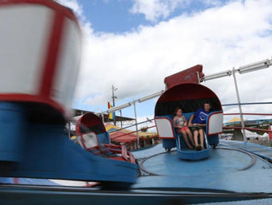 The Taylor County Fair takes place this weekend in