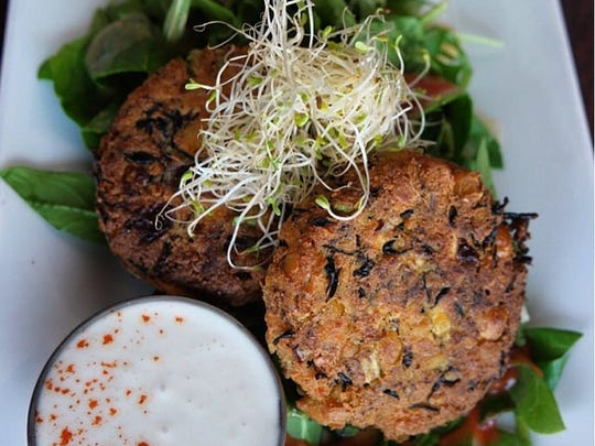 Chickpea Bay Cakes at Graze.