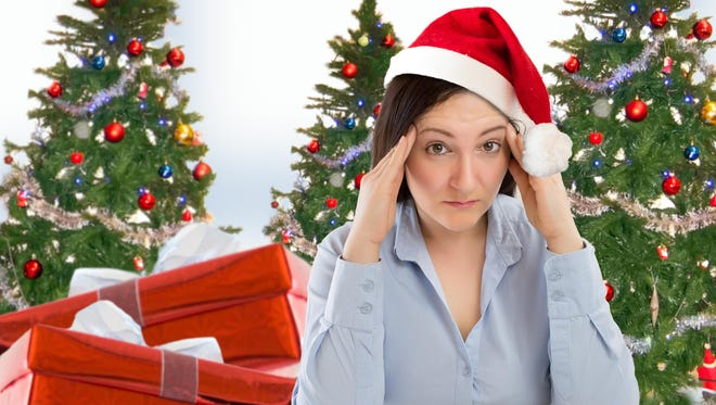 If you think you're the only one stressed around the holidays, think again.
