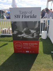 The Taste of SWFL food festival at the Chubb Classic