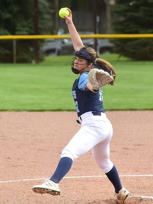 Hillsdale's Olivia Betson is one of 32 players who could play their final game representing their high schools in July 21's Wayne-Holmes Softball Farewell Game at Triway.