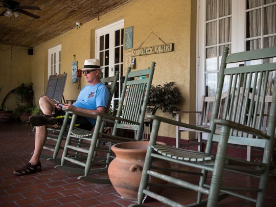 Keith Bessette, who moved to downtown Stuart from New