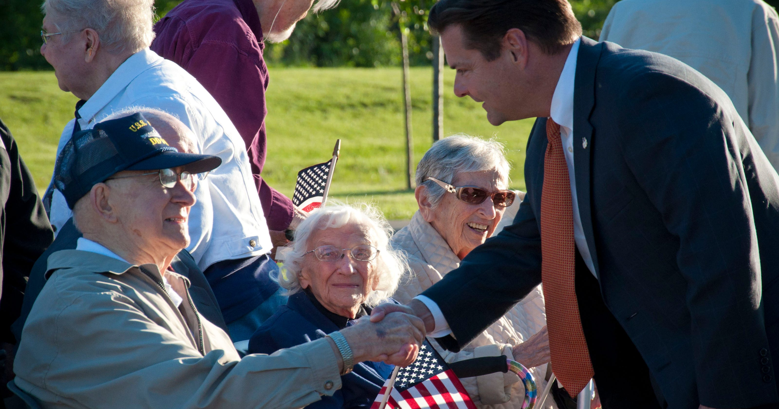 Symmes Twp Honors Veterans At Home Of The Brave Park