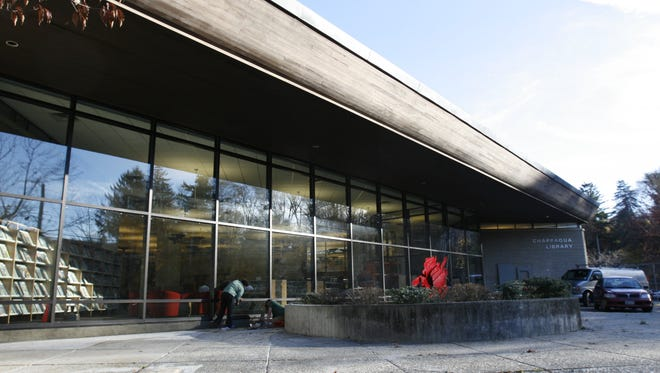 The Chappaqua Library in New Castle. The town is looking to updated its comprehensive plan, as well as work on plans for Chappaqua and Millwood.