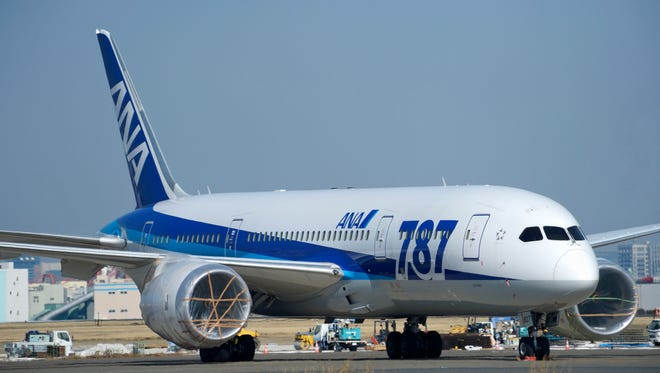 A Boeing Co. 787 Dreamliner aircraft