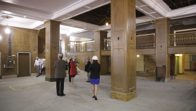 A view inside the lobby area of the Hotel Northland in Green Bay.