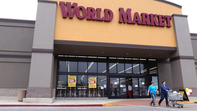 Cost Plus World Market, 5425 South Padre Island Drive, had signs on their store announcing the store closure on Monday, February 5, 2018.