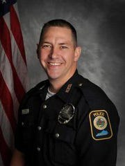 Officer Jason Ellis, 33, a Bardstown police officer,