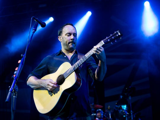 Dave Matthews Band play Riverbend on June 7.