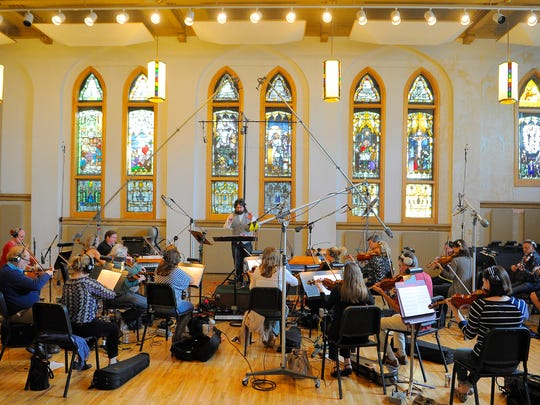 Nashville Music Scoring recorded a session for a video