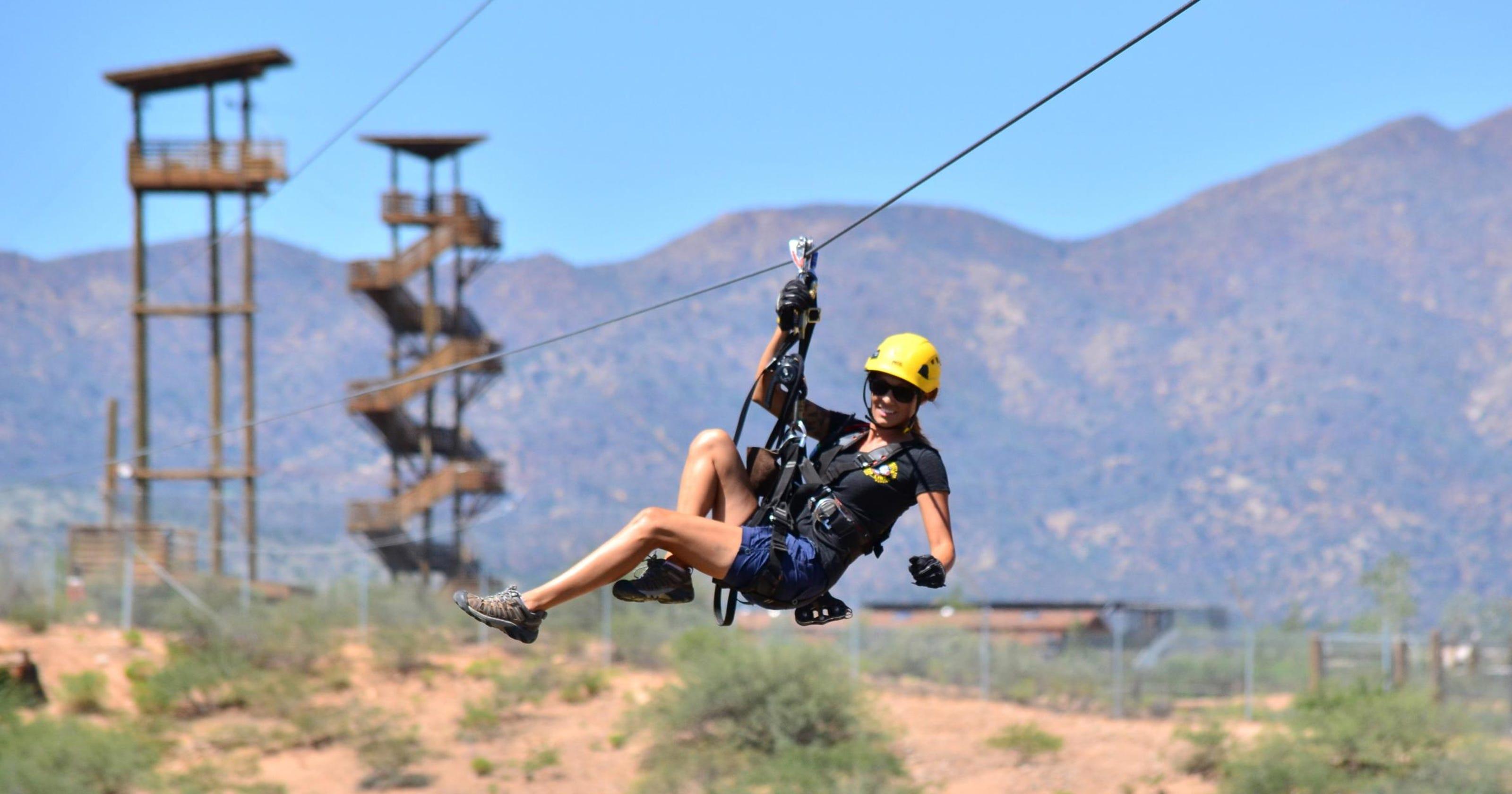 zip line fun at 8 arizona spots